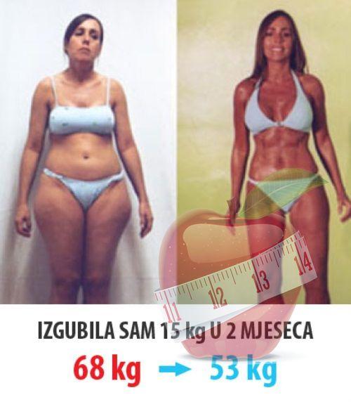 1 kg gubitka masti